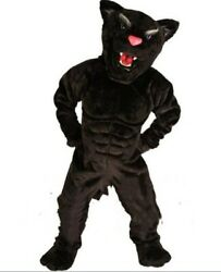 Black Panther Mascot Costume Suit Cosplay Party Game Fancy Dress Outfits Promot