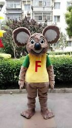 Koala Bear Mascot Costume Suit Halloween Cosplay Party Game Outfit Clothing Xmas
