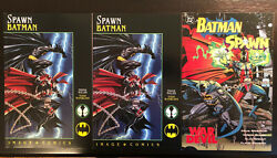 Spawn Batman 2 Copies And Batman Spawn Comic Books Great Cond. Bagged/boarded.