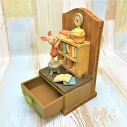 Winnie The Pooh Piglet Book Stand Bookend Main Accessory Case Made Of Pottery