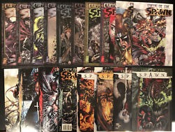 Curse Of The Spawn Comic Books Lot Issues 1-17 And 20. Superb Cond. Bagg/boarded