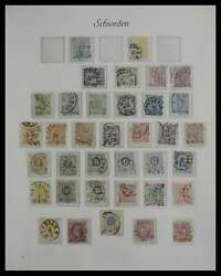 Lot 27298 Stamp Collection Sweden 1855-2000.