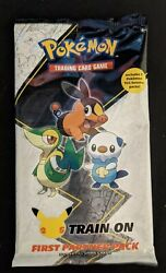Pokemon First Partner Pack Unova New Sealed 2-booster Packs In-hand Free Ship