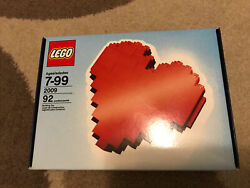 2009 Lego Employee Gift Exclusive Heart Extremely Rare Nsib Us Seller