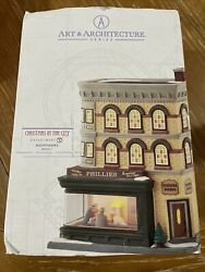 Dept 56 Christmas In The City Nighthawks 4050911 Retired And Rare Brand New 🔥