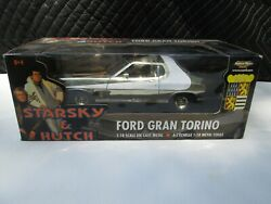 Starsky And Hutch Ford Gran Torino Ertl American Muscle 118 Die Cast 33399