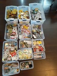 Huge Mixed Lot Of New Fishing Tackle Lures Jigs Hooks Weights Floats Etc