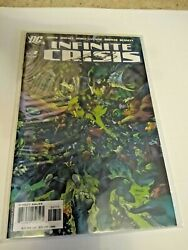 Infinite Crisis 7 Nm Signed By George Perez - 2006 Dc - Jim Lee Cover