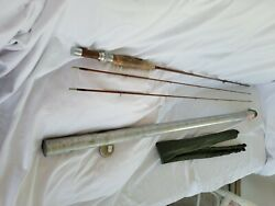 Vintage Orvis Bamboo Two Piece 8' Battenkill Orvis Impregnated Fly Fishing Rod