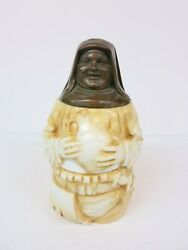 Character Figural Beer Stein Monk Knight Porcelain Tankard Musterschutz Quality