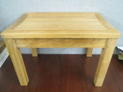 Loveteak 24and039and039 Wood Teak Shower Bench 24and039and039 Long X 17and039and039 Tall X 16and039and039 Wide