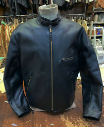 Lost Worlds Horsehide Easy Ryder Motorcycle Jacket 48r New Perfect Was 1450.