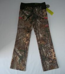 Under Armour Storm Speed Freak Realtree Camo Hunting Field Pants Womens Sz 6 New