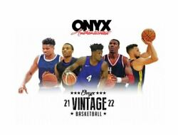 2021 Onyx Vintage Basketball Sealed Case - Curry, Giannis, Rookies, Shaq