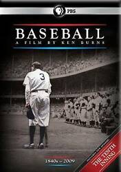 Baseball A Film By Ken Burns [includes The Tenth Inning]