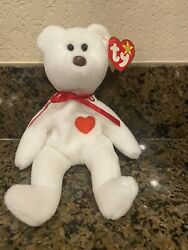 Extremely Rare Valentino Beanie Baby 4058 With Major Errors And Pvc Pellets
