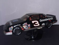 Rare 3 Goodwrench Black Monte Carlo Ertl 118 Die Cast Dale Earnhart On Stand