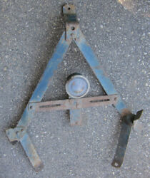 1920's Chevrolet Superior Tail Light Spare Tire Carrier And License Mount Stand