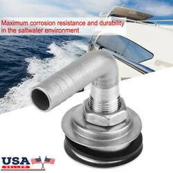 90anddegstainless Steel Marine Boat Flush Mount Fuel Gas Tank Vent For 5/8 Hose Us