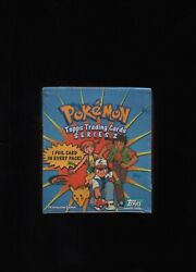 Sealed Pokemon Booster Box Topps Series 2 - Special Collector's Edition