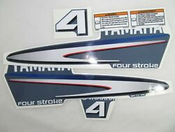 Decal Set Yamaha F 4 Four Stroke Outboard. Vinyl Kit Sticker Reproduction