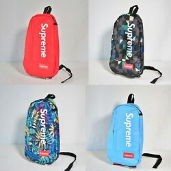 4 Color Supreme Crossbody Backpack Single Strap Bag【US Fast Free Shipping】 $28.99
