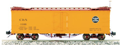 Accucraft / Ams Am31-560 Cands 1109 Refrigerator Car 120.3 Scale