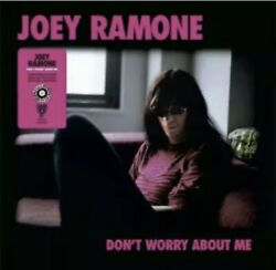Joey Ramone - Donand039t Worry About Me Lp Rsd 2021 Pink Black Splatter Vinyl In Hand