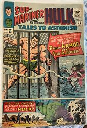 🔥tales To Astonish701stapp. King Neptune W/trident first Namor Storys1965🔥