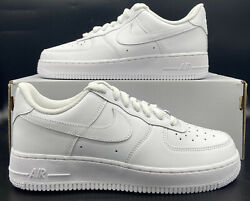 Nike Air Force 1 And03907 Sneakers Triple White Dd8959-100 Womenand039s Size