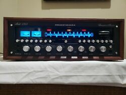 Black Marantz 2325 Receiver W/ Leds In Excellent Condition And Working Well