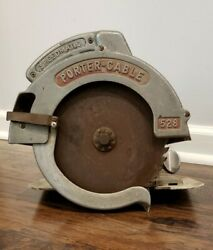 Vintage Porter Cable Circular Saw Heavy Duty Type B