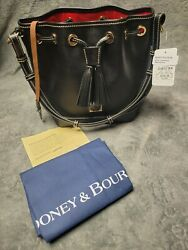 dooney bourke handbag leather black tote quot;NEW WITH TAGS AUTHENTICquot; $89.00