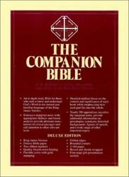 The Companion Bible By Bullinger, W. New 9780825422881 Fast Free Shipping-,