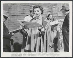 Make Haste To Live '54 Dorothy Mcguire Reading Newspaper