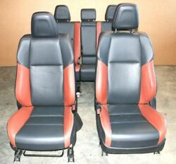 2013-2018 Toyota Rav4 Front And Rear Seat Set With Door Panel Assy Oem