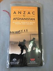 2016 Anzac To Afghanistan Full 14 Coin Set With Collector's Album Ram Issue