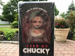 Trick Or Treat Studios Doll Seed Of Chucky 11 Scale Sideshow New