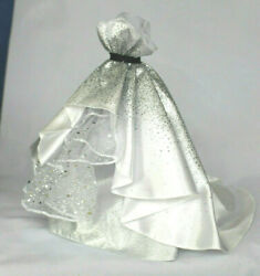 OoP Barbie Silver Evening Gown Glitter Sparkle Formal Dress Clothes Model Muse $18.99