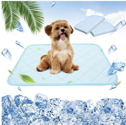 2 Pack Dog Self Cooling Mat - Cooling Pads For Dogs, Washable Pet Cooling Blanke
