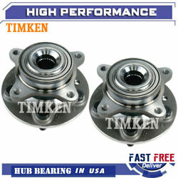 Timken Front Lh And Rh Wheel Hub Bearing Assembly For Land Rover Lr3 4.4l V8