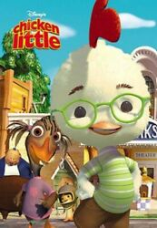 Elegant 1000 Piece Jigsaw Puzzle Chicken Little Discontinued Products 6-317