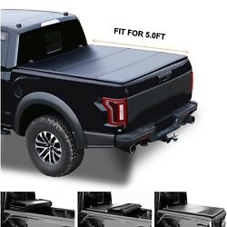 5and039/60.5 Hard Tri-fold Truck Bed For 2016-2021 Toyota Tacoma Tonneau Cover