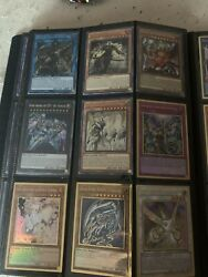 Yugioh Binder Collection- Rare Cards Zeus Secret Pankratops Collector And More