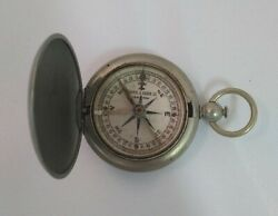 Vintage Keuffel And Esser Co Pocket Compass 1920-1940 New York Working