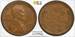1909 S Vdb 1c Lincoln Wheat Cent Pcgs Au 55 About Uncirculated Key Date Cac C...