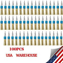 100x Nsk Style Dental Slow Low Speed Straight Nosecone Handpiece E-type Us Ld-v