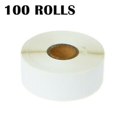 100rolls Of 350 Address Label 1-1/8 X 3-1/2 For Dymo 30252 Labelwriter 400 Duo