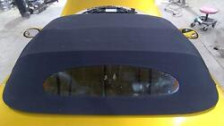 97-02 Chrysler Plymouth Prowler Oem Convertible Top Roof Black