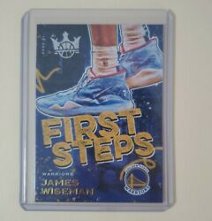 James Wiseman 2020-21 Panini Court Kings First Steps Rookie Card Rc